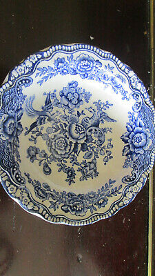 Vintage Crown Ducal Blue And White Bowl • 1.99£