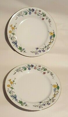 2x Woodhill China Citation Design Dinner Plates Made In Indonesia Diameter 10.5  • 12.99£