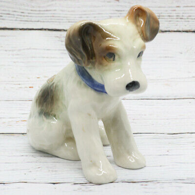 VERY RARE Vintage Bretby Pottery Terrier Dog Figurine • 120£