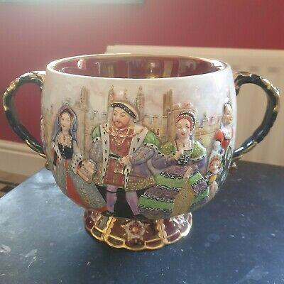 Limited Edition Henry V111 Punch Bowl Carlton Ware No 42 Of 250  • 2.20£