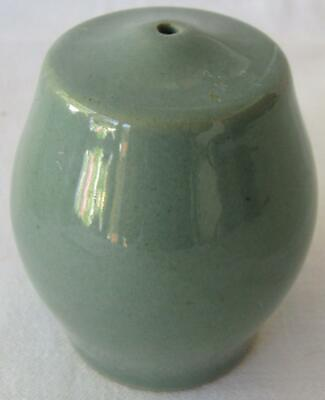 Vintage Denby Manor Green Stoneware Salt Pot Original Stopper • 9£