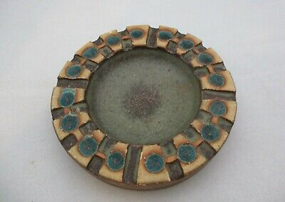 Jersey Pottery Ashtray Initialed C.I • 12£