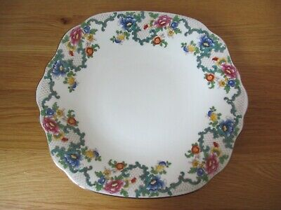Vintage Royal Cauldon Victoria Bread And Butter/Cake Plate • 12.99£