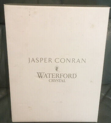 Waterford Crystal Jasper Conran Aura Goblet- Pair With Original Wrapping And Box • 32£