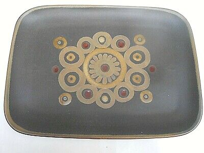 Rare Large 1970's Vintage Denby ARABESQUE Rectangular Serving Platter/Tray • 19.99£