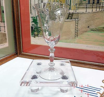 Cambridge Glass Crystal #300 Caprice 7 1/2  Water Goblet 1936-1958 • 17.64£
