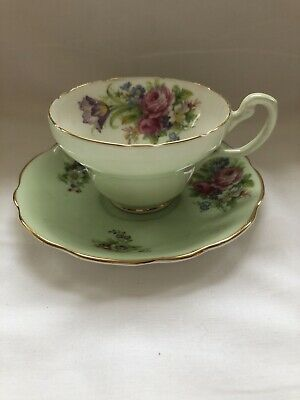 Antique EB Foley China Cup And Saucer • 25£