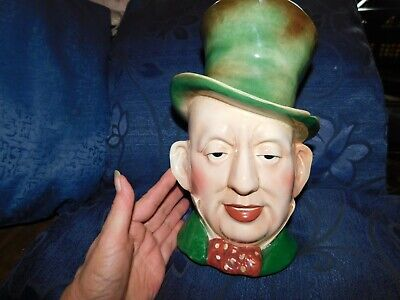 Vintage Large Size Beswick Toby Jug Mr Micawber Title Deeds 310 9  High • 30£