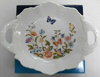 Aynsley Cottage Garden Fine Bone China 10  Floral Victorian Tray Dish Boxed • 7.99£