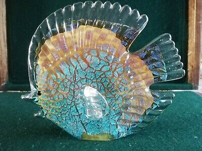 Fish Glass Figure Weighs 659 Grams • 1.70£