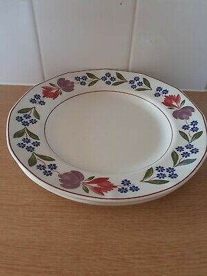 Adams Old Colonial Dinner Plates X 2 • 10£