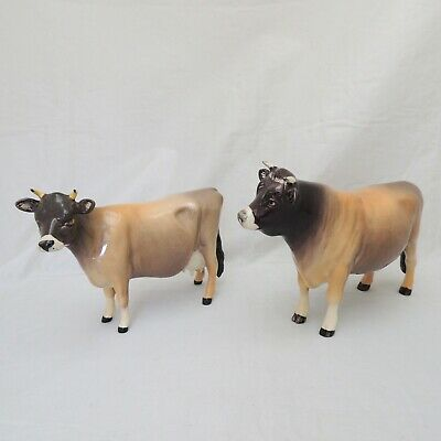Beswick Jersey Cow And Bull Champion Newton Twinckle And Dunsley Coy Boy  • 59.99£