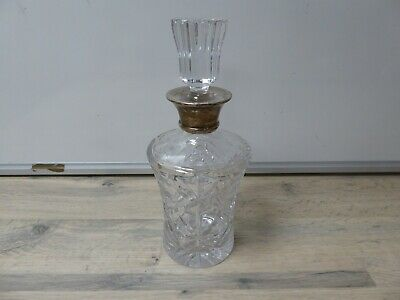 Vintage Cut Glass Decanter 24cm Tall • 4.99£
