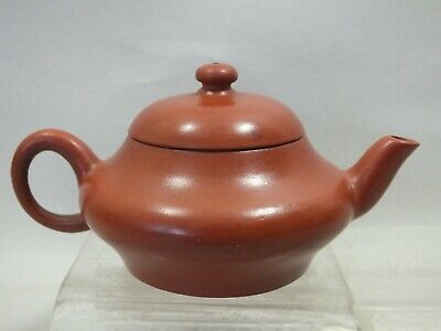 A Good Small Chinese Yixing Red Tea-pot Marked On Base 19th Century • 55£
