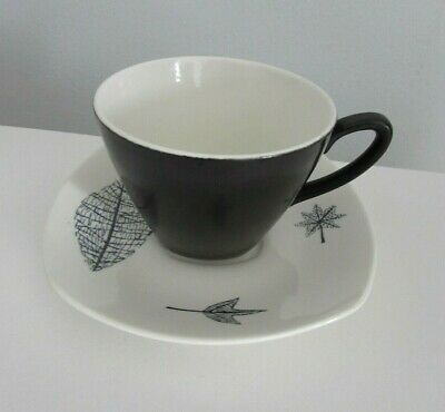 Midwinter  Nature Study  Coffee Cup & Saucer Style Craft Terence Conran  • 10.99£