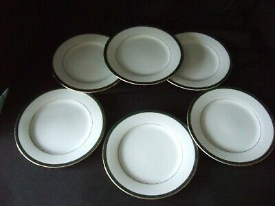 Boots Hanover Green - 16.5 Cm Fine China  Side / Tea Plates X 6 • 9.99£