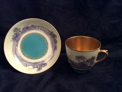 Antique Dresden Porcelain Coffee Cup Can • 75£