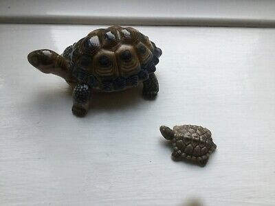 Wade Tortose Trinket Box And Small Wade Whimsie Tortoise • 1.80£