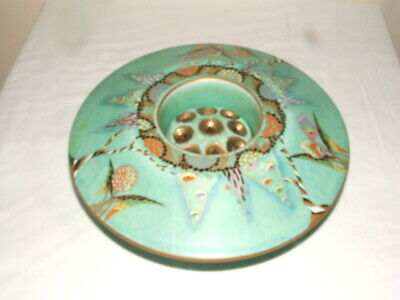 Carlton Ware Art Deco Devils Copse Vase With Centre Frog  Truly Stunning • 52£