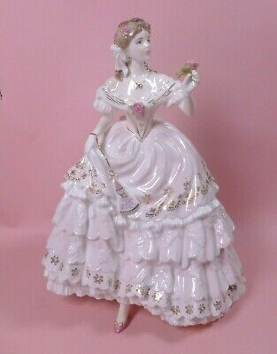 Royal Worcester Figure  The Fairest Rose   Enchanted Evenings Series - Perfect • 54£