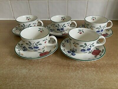 Royal Stafford Toscana - 5 X Cups And Saucers • 25£