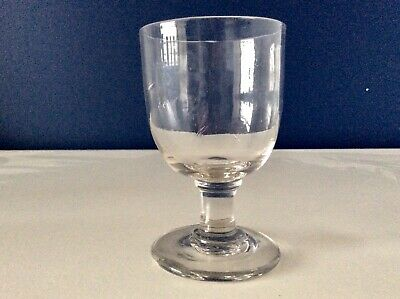 Early 19th Century Georgian Wine Glass Rummer Capstan Stem Snapped Pontil C1820 • 9.99£