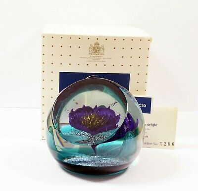 Lovely Mint In Box Caithness Paperweight Limited Edition Tropicana  #1206 • 38.99£