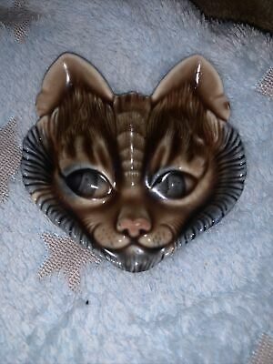 (w) Vintage Wade Cat Face Dish 3.5 Inches • 6£