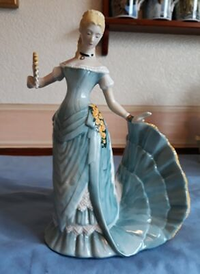 Franklin Porcelain Arabella Figurine 'The Waltz' Vintage 1981 Beautiful Figurine • 25£
