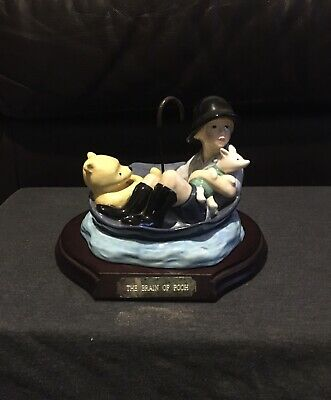 Limited Edition Winnie The Pooh Figure - The Brain Of Pooh WP31 - Number 19/5000 • 30£