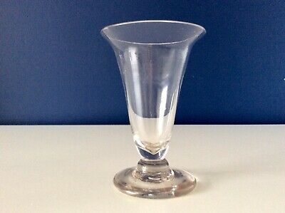 Early 19th Century Georgian Trumpet Bowl Lead Crystal Jelly Glass C1810 • 9.99£