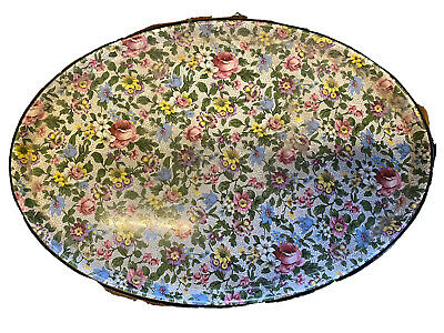Solian Ware Soho Pottery Cobridge Floral Platter Oval Plate Large • 0.99£