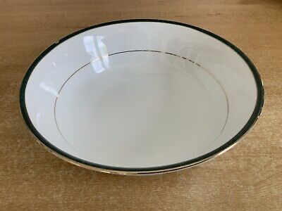 Boots Hanover Green - 23 Cm Open Fruit / Salad / Serving Bowl - Chipped • 6£