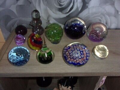 Vintage Glass Paperweights • 30£