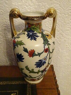 Noritake     Vase    Hand Painted    With    Gilding • 30£