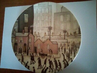 Salford Art Gallery Plate By Lowry Queens Fine Bone China • 15£