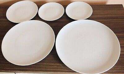 LSA Selection Of Porcelain Plates X 5 Various Sizes • 30£