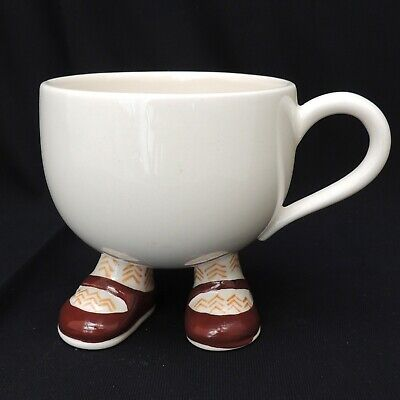 Carlton Ware Walking Cup Brown Shoes  • 6.99£