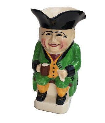 DEVONMOOR POTTERY TOBY JUG TRADITIONAL FIGURE CHARACTER 21cm • 19.80£