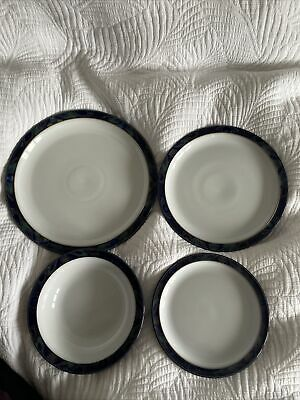 Denby Baroque Dinner Plates  Large. Complete Set Available • 14£