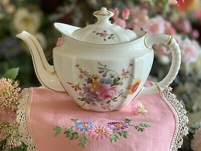 Royal Crown Derby Teapot Derby Posies ABSOLUTELY PERFECT! 1st Quality Never Used • 69.99£