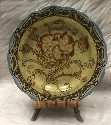Wong Lee Hand Painted Porcelain Plate 1895 #13445  • 67.14£