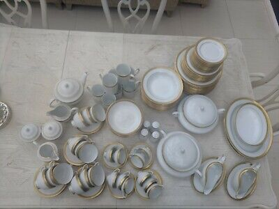 Boots Imperial Gold China Dinner Service Full Set And Spares • 999£