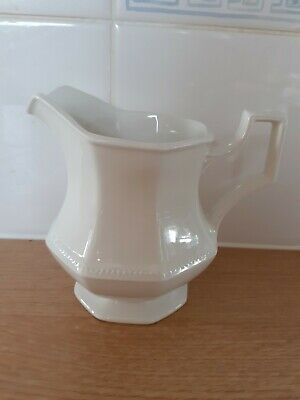 Johnson Brothers Heritage White Octagonal Jug • 5£