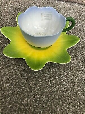 Laura Ashley Hand Painted Flower Tea Cup And Saucer New • 14.99£