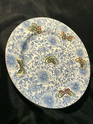 Daulton Blue And White Plate • 20£