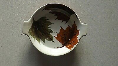 Oven King, Small Dish, Leaf Design, Italy • 4£