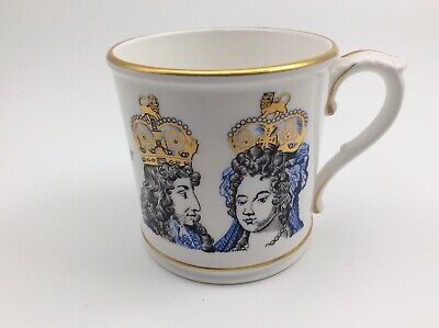 Royal Worcester Ltd Ed 2500 King William III Queen Mary II 1688-1988 Anglo Dutch • 22.50£