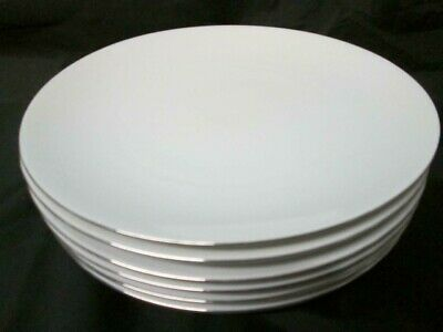 Thomas Dinner Servive Salad Plate Service Fine Platinum Silver Trim  • 1.99£