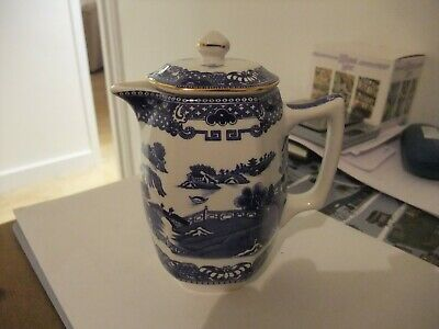 A Wonderful Willow Pattern Wade Ringtons Coffee/Hot Water Jug • 5.99£